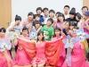 """Корейский ансамбль \""""Unyul mask dance group\"""" в Корейском культурном центре"""